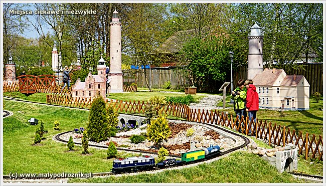 Park Miniatur i Kolejek w Dziwnowie