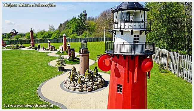 Park Miniatur Latarni Morskich w Niechorzu