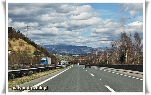 autostrady w Austrii